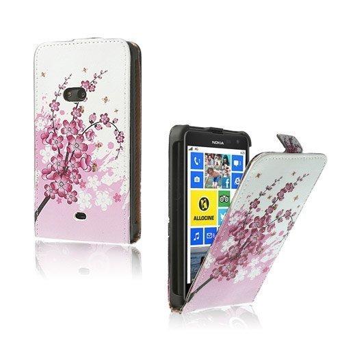 Festival Pinkki Nokia Lumia 625 Nahkakotelo