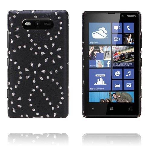 Firenze Musta Nokia Lumia 820 Suojakuori