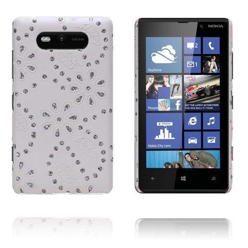 Firenze Valkoinen Nokia Lumia 820 Suojakuori