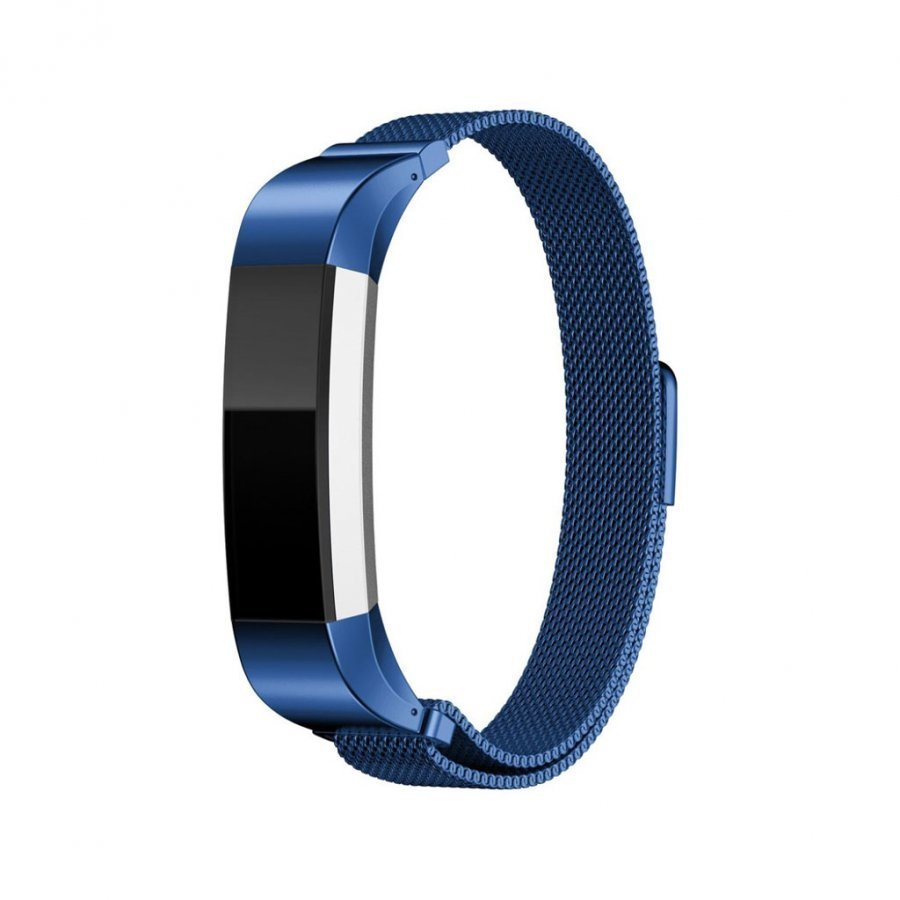 Fitbit Alta Milaneesi Magneettinen Ruostumaton Teräs Ranneke Sininen
