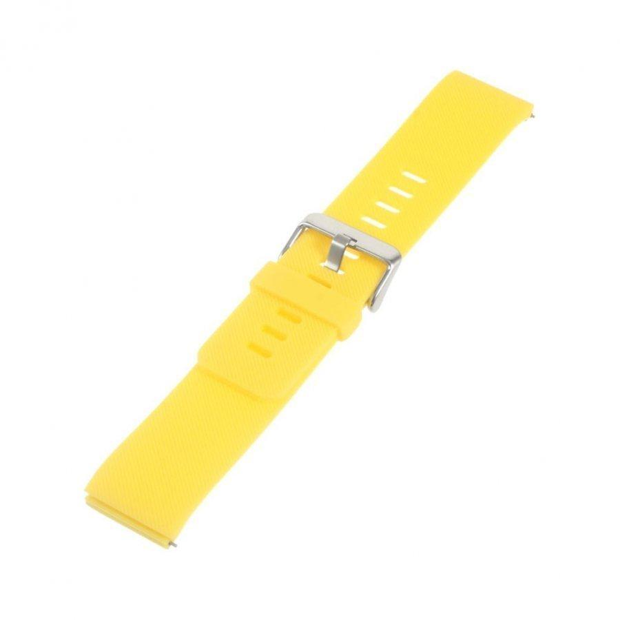 Fitbit Blaze Pehmeä Silikoni Urheilu Ranneke Keltainen