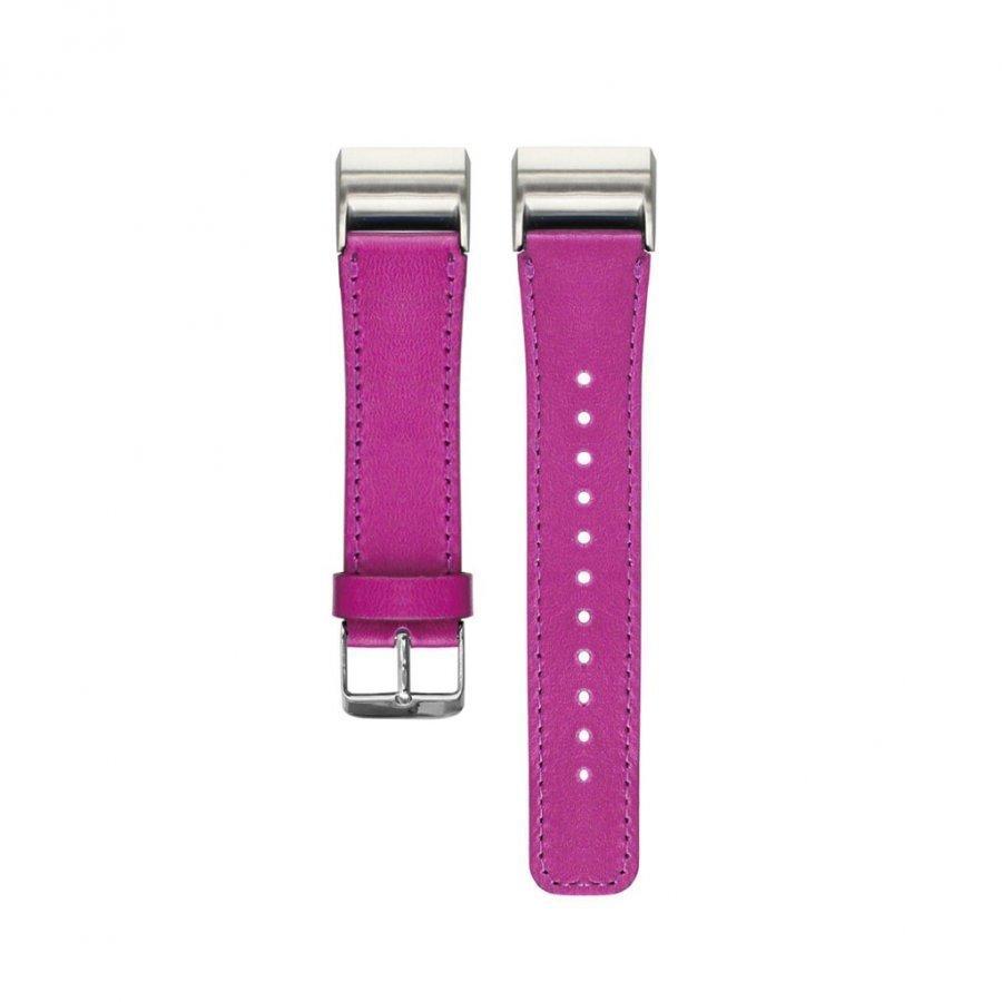 Fitbit Charge 2 Aito Nahka Ranneke Kuuma Pinkki