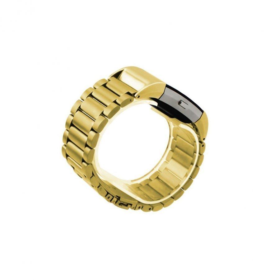 Fitbit Charge 2 Vahva Ruostumaton Teräs Ranneke Kulta