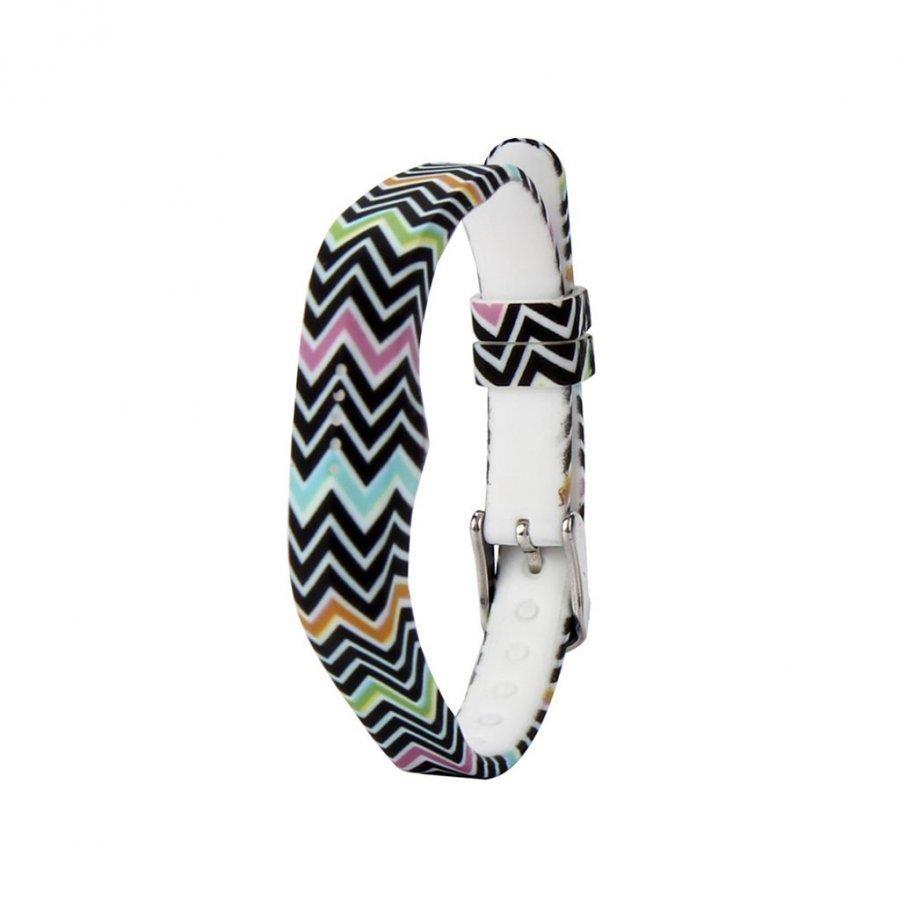 Fitbit Flex 2 Joustava Silikoni Ranneke Värikäs Chevron Kuvio
