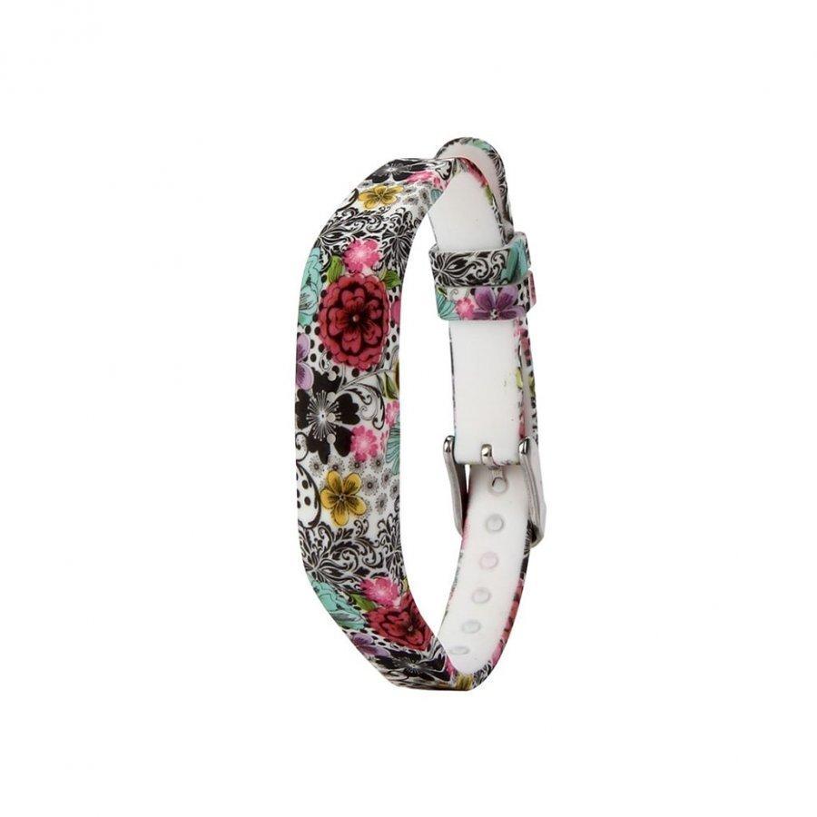Fitbit Flex 2 Joustava Silikoni Ranneke Väritetyt Kukkaset