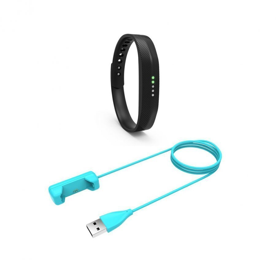 Fitbit Flex 2 Latauspidike 100cm Kaapelilla Sininen