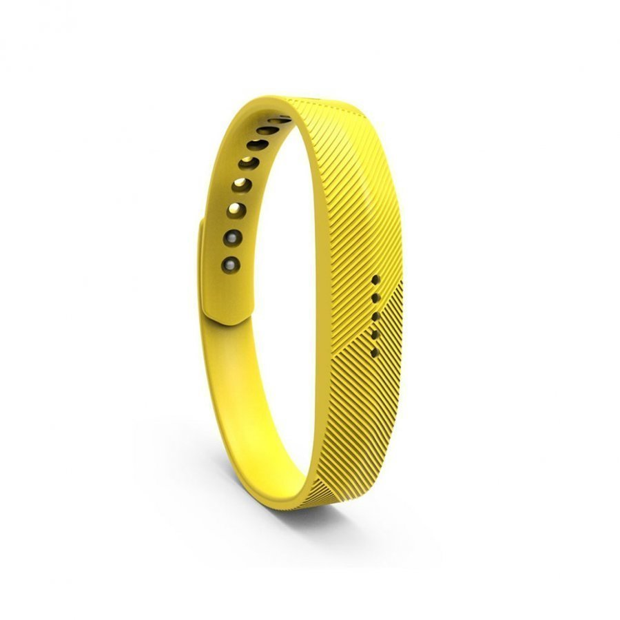 Fitbit Flex 2 Urheilu Silikoni Ranneke Keltainen