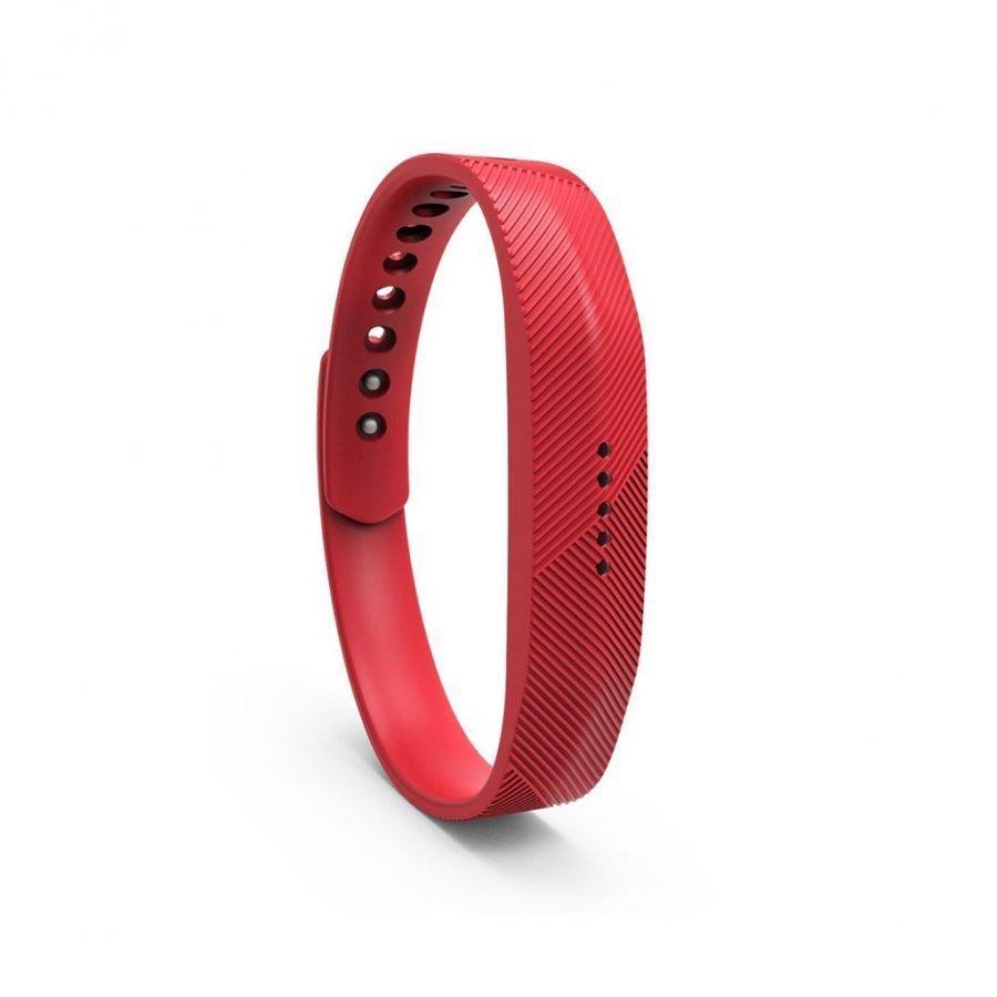 Fitbit Flex 2 Urheilu Silikoni Ranneke Punainen