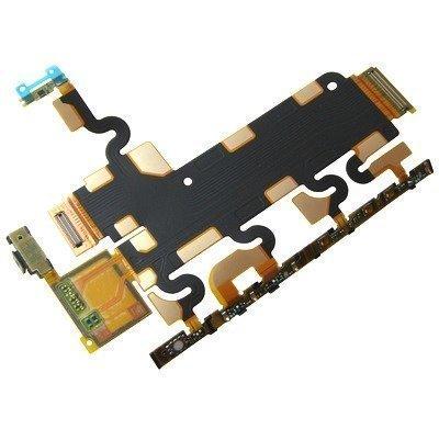 Flex sivu key Sony C6902/ C6903/ C6943 Xperia Z1 Alkuperäinen