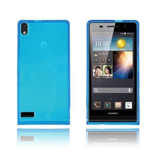 Flexcase Sininen Huawei Ascend P6 Suojakuori