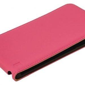 Flip-kotelo Galaxy Note 4 vaaleanpunainen