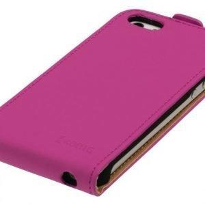 Flip-kotelo Galaxy S5 vaaleanpunainen