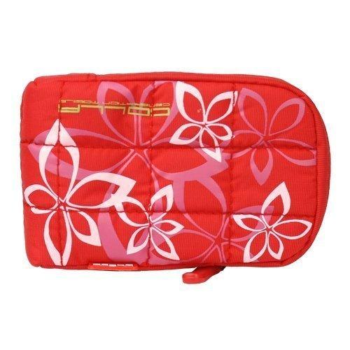 Flower City Bag Punainen Kännykkäpussi