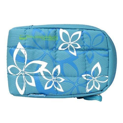 Flower City Bag Sininen Kännykkäpussi