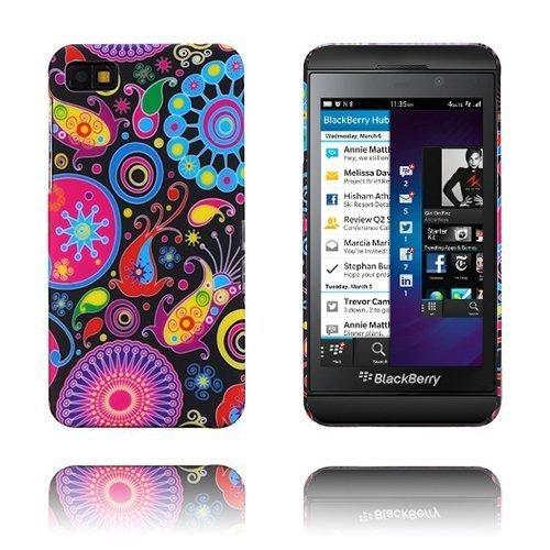 Flower Power Kuvioitu Blackberry Z10 Suojakuori