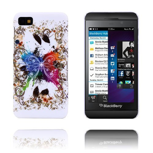 Flower Power Perhonen Blackberry Z10 Suojakuori