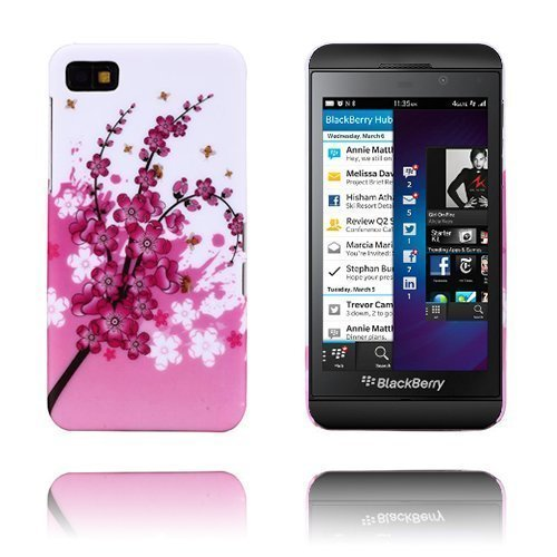 Flower Power Pinkki Blackberry Z10 Suojakuori