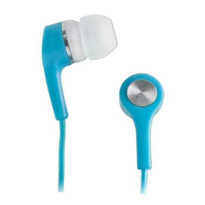 Forever Apple iPhone ja Nokia Lumia yhteensopivat kuulokkeet mikrofonilla Sininen