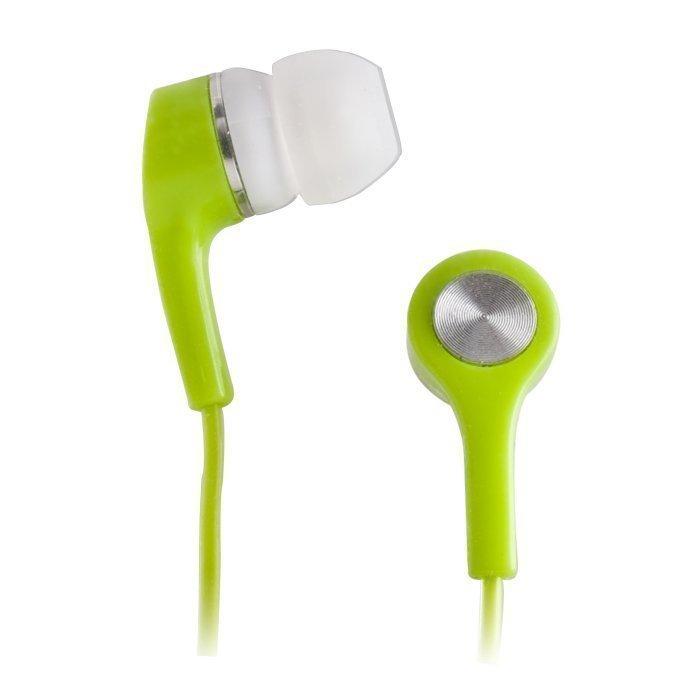 Forever Apple iPhone ja Nokia Lumia yhteensopivat kuulokkeet mikrofonilla Vihreä