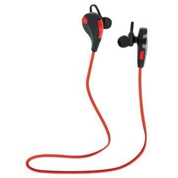 Forever BSH-100 Bluetooth Kuulokkeet Mikrofonilla Punainen