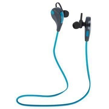 Forever BSH-100 Bluetooth Kuulokkeet Mikrofonilla Sininen