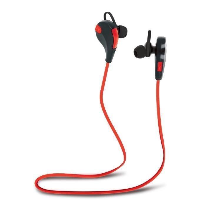 Forever Bluetooth Headset BSH-100 langattomat kuulokkeet Punainen