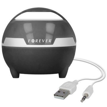 Forever MS-100 Tietokoneen-Kaiutin Musta