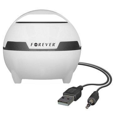 Forever MS-100 Tietokoneen-Kaiutin Valkoinen