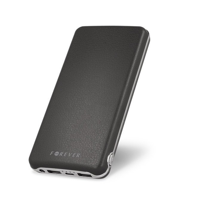 Forever Power Bank TB-019 vara-akku 16000 mAh musta