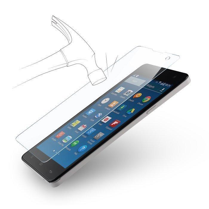 Forever Tempered Glass Iskunkestävä Panssarilasi Samsung Galaxy S7 Edge G935F Kaareva koko näytön suoja