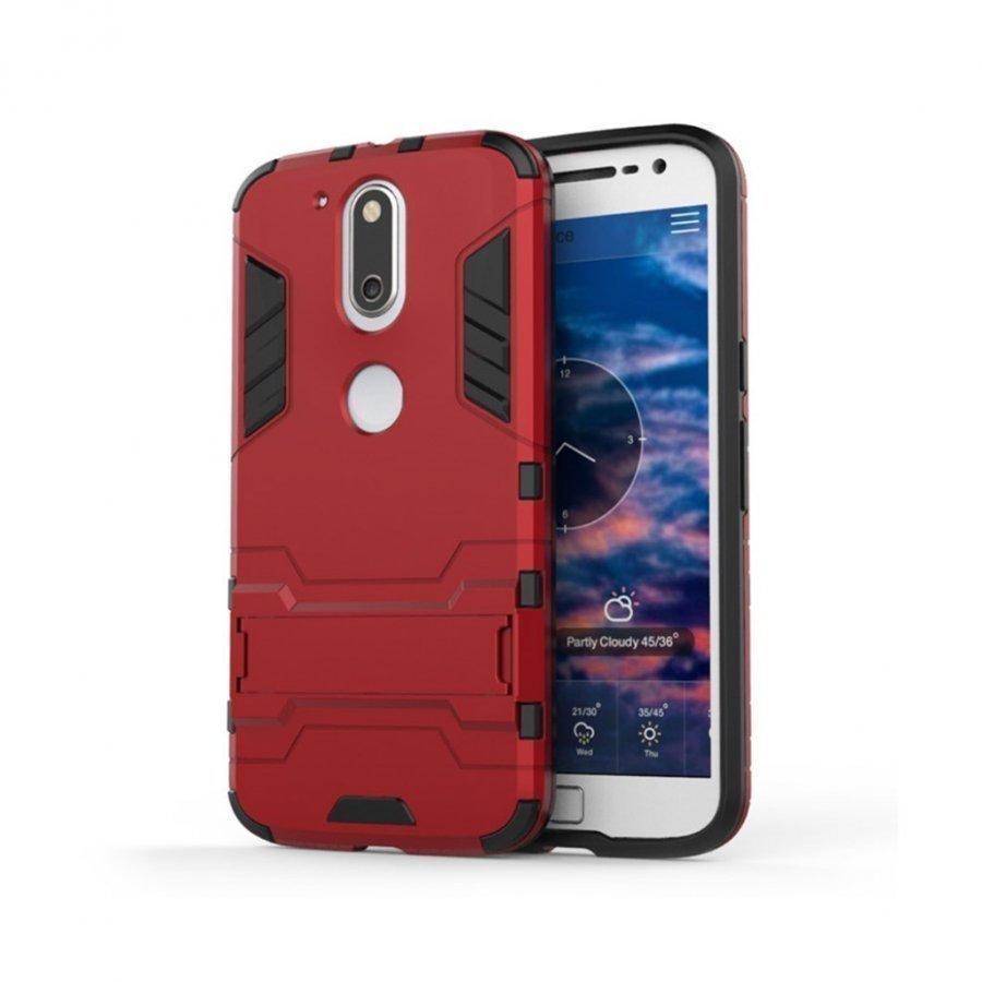 Freydis Motorola Moto G4 / G4 Plus Joustava Muovikuori Harmaa