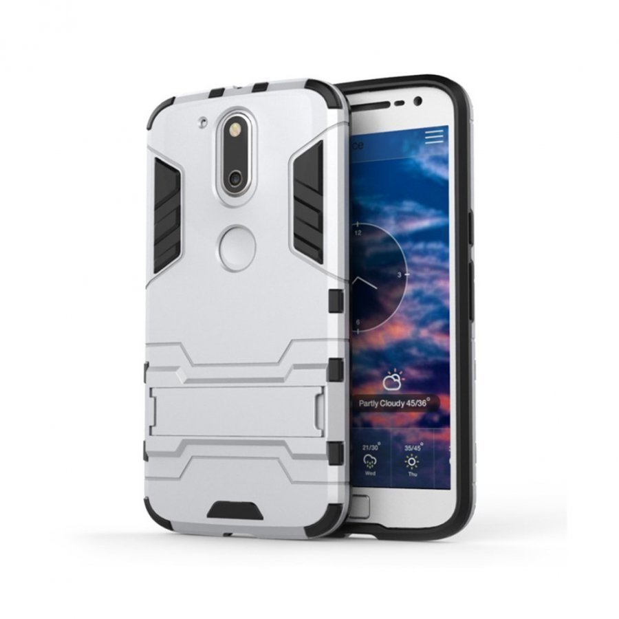 Freydis Motorola Moto G4 / G4 Plus Joustava Muovikuori Kulta