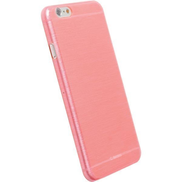 FrostCover muovikuori iphone 6:lle läpinäkyvä vaaleanpunainen