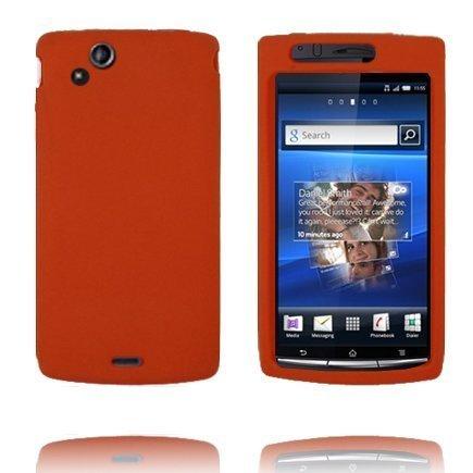 Full Soft Shell Oranssi Sony Ericsson Xperia Arc Suojakuori