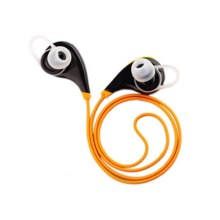 G6 Hands-Free Urheilu Korvanappi Stereo Kuulokkeet Älypuhelimille Oranssi