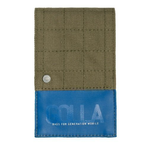 GOLLA Mobile SARAJEVO Universal Wallet style (115x75x12 mm) Army Green / Blue EOL