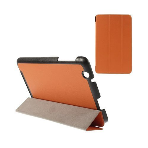 Gaarder Acer Iconia One 8 B1-820 Nahkakotelo Oranssi