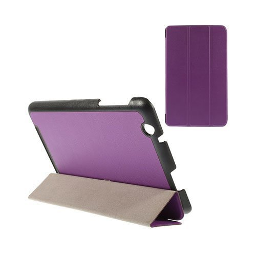 Gaarder Acer Iconia One 8 B1-820 Nahkakotelo Violetti