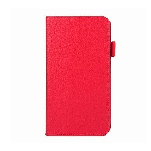 Gaarder Acer Iconia Talk S Smart Nahkakotelo Standillä Punainen