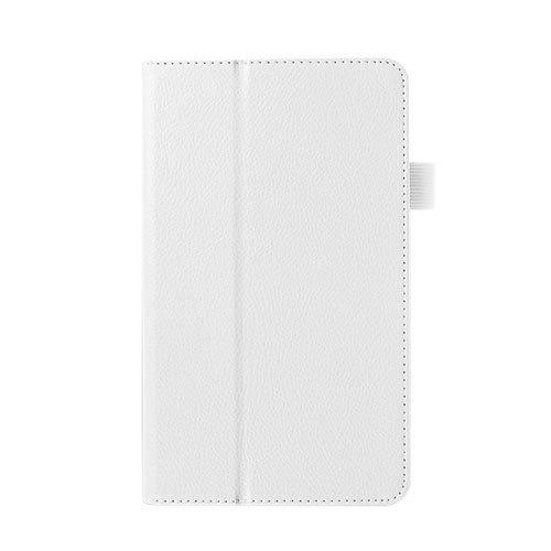 Gaarder Huawei Mediapad M1 Nahkakotelo Standillä Valkoinen