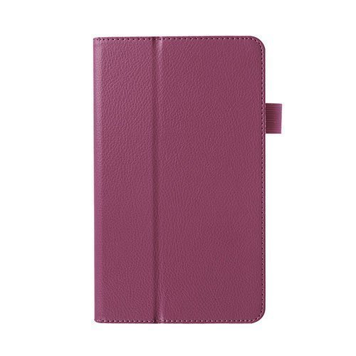 Gaarder Huawei Mediapad M1 Nahkakotelo Standillä Violetti