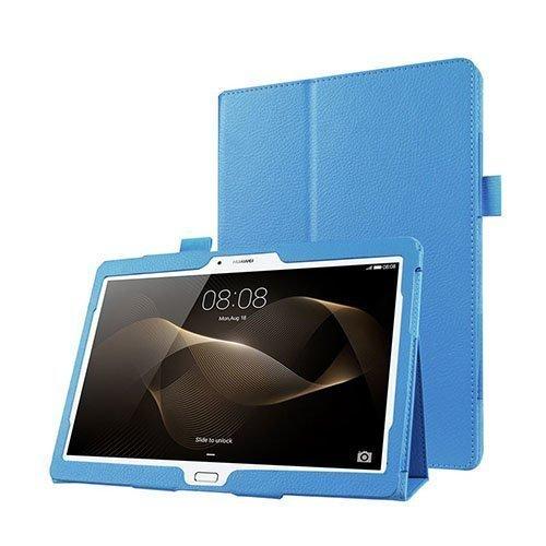 Gaarder Huawei Mediapad M2 10.0 Nahkakotelo Standillä Vaaleansininen