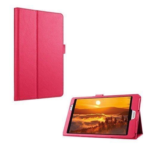 Gaarder Huawei Mediapad M2 8.0 Nahkakotelo Standillä Pinkki