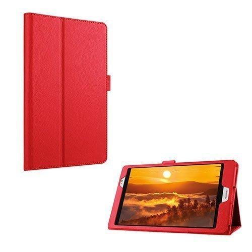 Gaarder Huawei Mediapad M2 8.0 Nahkakotelo Standillä Punainen