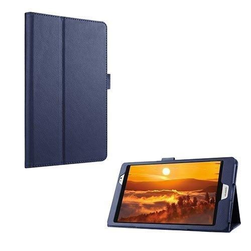Gaarder Huawei Mediapad M2 8.0 Nahkakotelo Standillä Tummansininen