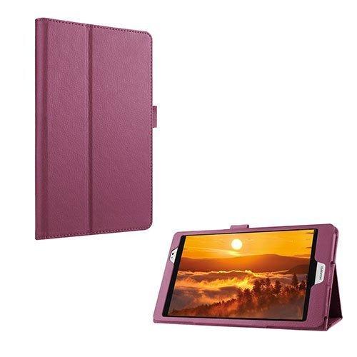 Gaarder Huawei Mediapad M2 8.0 Nahkakotelo Standillä Violetti