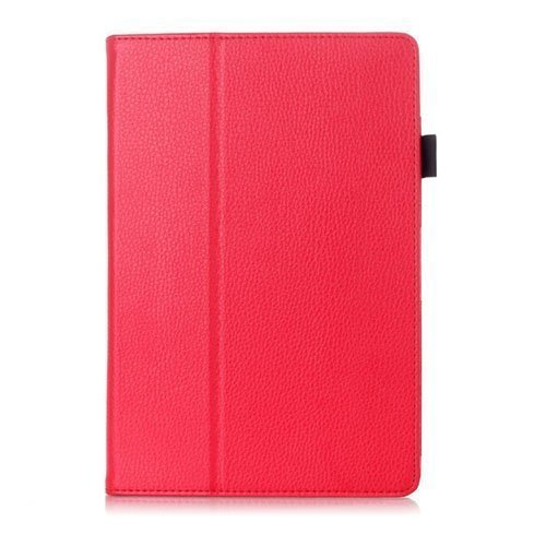 Gaarder Lenovo Ideatab A10-70 Leather Stand Case Red