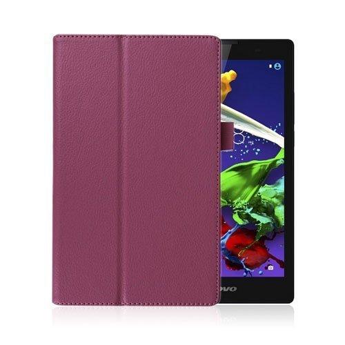 Gaarder Lenovo Ideatab A8-50 A5500 Nahkakotelo Standillä Violetti