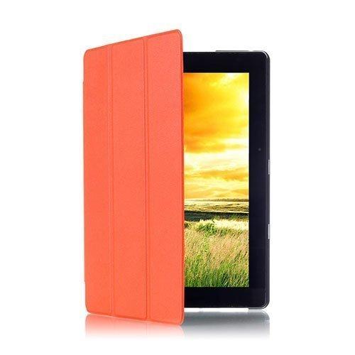 Gaarder Lines Acer Aspire Switch 10e Nahkakotelo Standillä Oranssi