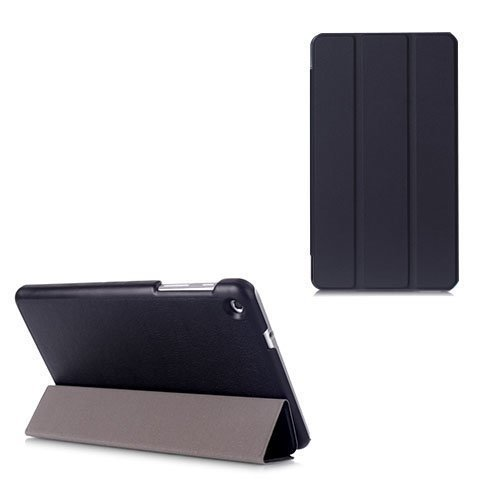 Gaarder Lines Huawei Mediapad M1 8.0 Nahkakotelo Läpällä Musta